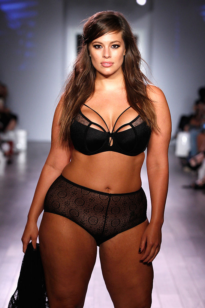 A model walks the runway as Addition Elle presents Fall/Holiday 2015 RTW and Ashley Graham Lingerie Collection At KIA STYLE360 on September 15, 2015 in New York City.