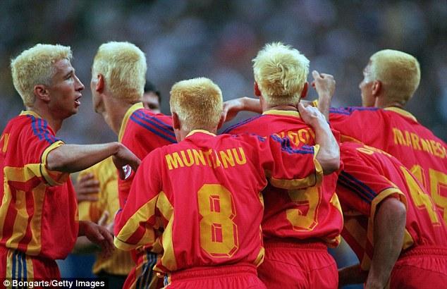 Збірна Румунії в 1998 році