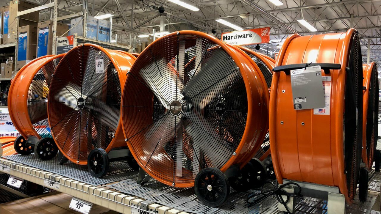 Garage Workshop Fan Hush Best Quiet Fans For Home And Sleeping 2019 Soundproofing Tips