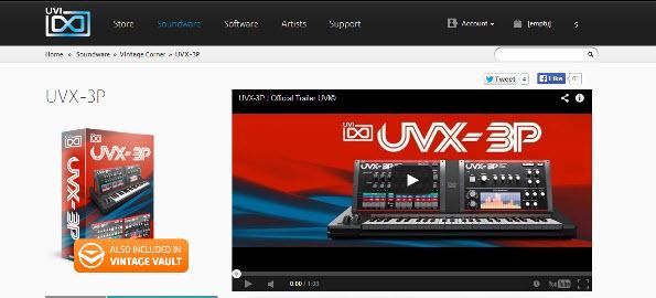 UVI_UVX-3P