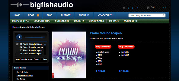pianosoundscapes