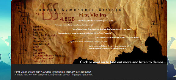 ARIA Sounds London Symphonic Strings