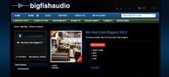 Big Fish Friday: Samplephonics Hip Hop Crate Diggers Vol 2 Review