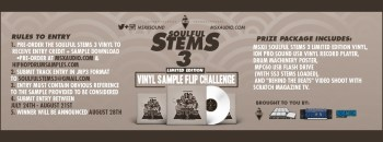 MSX Audio Soulful Stems 3 Vinyl Pre-Order and Sample Flip Challenge
