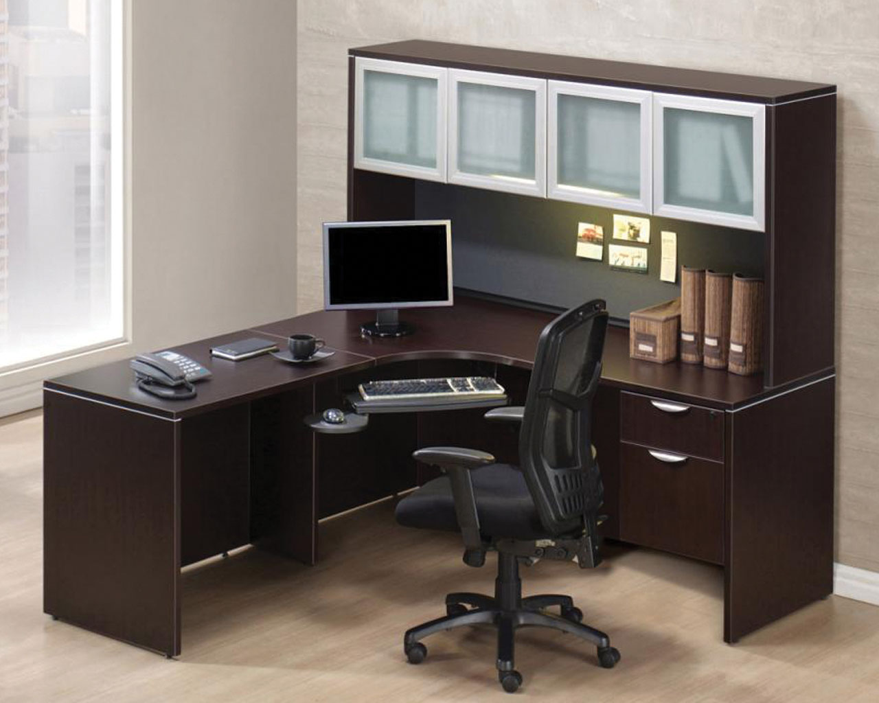 Corner Workstation Executive Desks Classic 71 Quot Executive L Shaped Corner