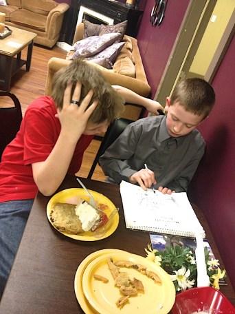 Dinner for Six Feb 2014 | Source Bible Class | 20