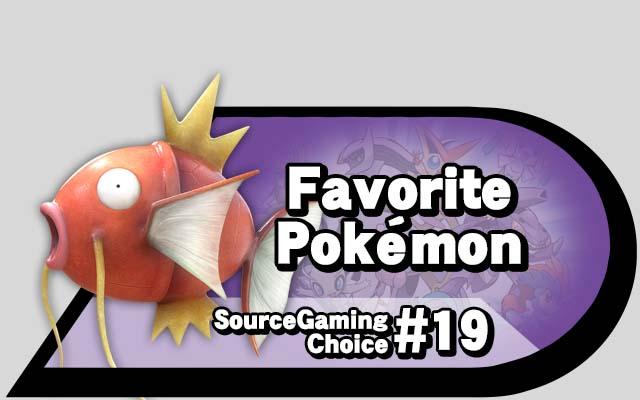 SG Choice pokemon