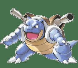 Blastoise from Pokémon Adventures.