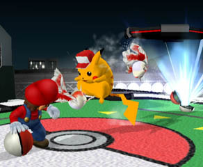 Pikachu is wearing the Pokémon Trainer hat, though.
