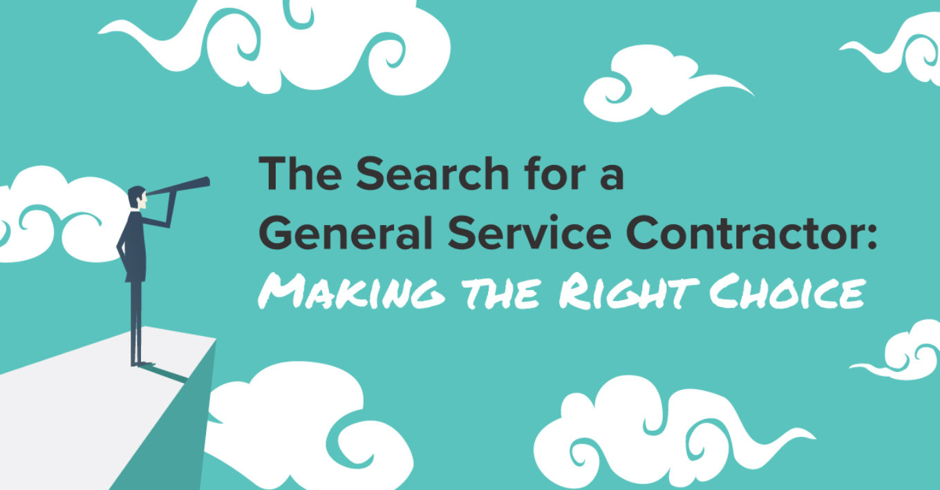 Service Contractor The Search For A General Service Contractor Making The Right