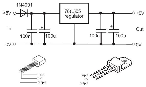 copper regulator schema cablage