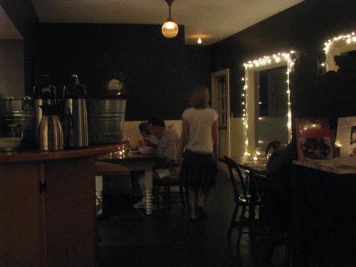 Dinner at Francine in Camden