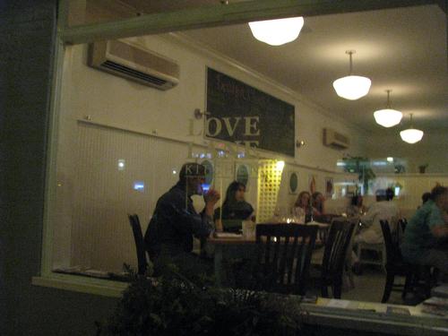 Dinner at Love Lane Kitchen