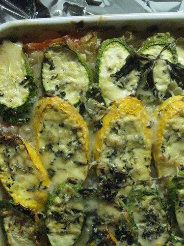 Recipe: Zucchini-Tomato Gratin