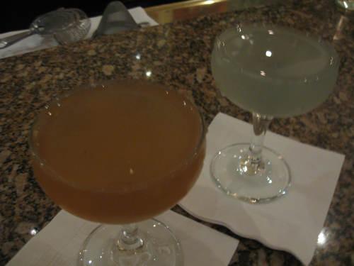 Cocktails at Clio