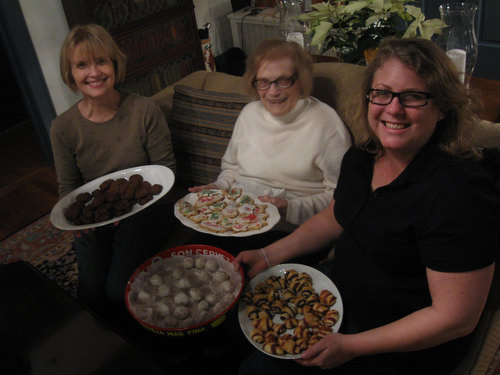 Baking Cookies with Mom and Grandmom