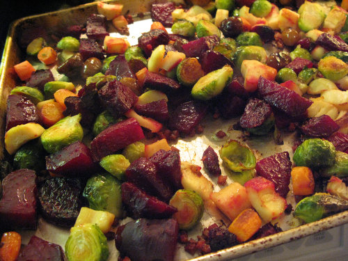 Jeweled Roasted Vegetables