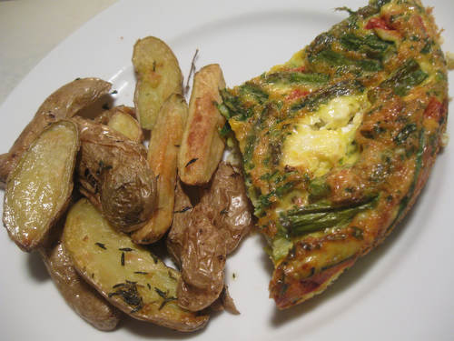 Recipe: Roasted Vegetable Frittata