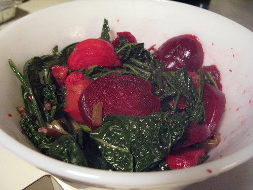 Recipe: Moroccan Beet and Kale Salad