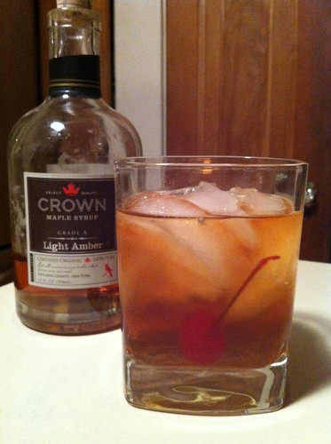 Cocktail Recipe: Maple Old Fashioned
