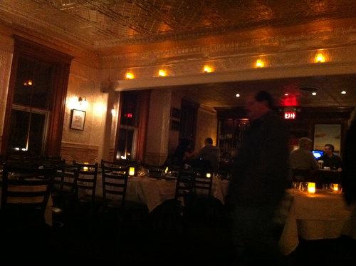 Dinner at Hudson House in Nyack