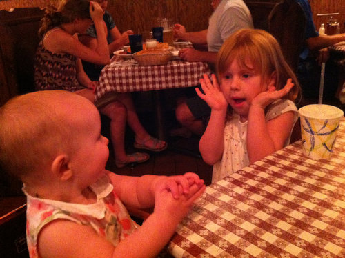 Pizza at the Mountain House