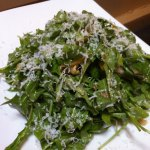 Arugula salad at Coals.
