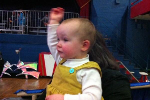 Samantha at the Circus!