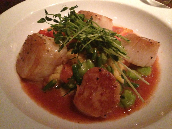 Supper at Grange in Westwood, N.J.
