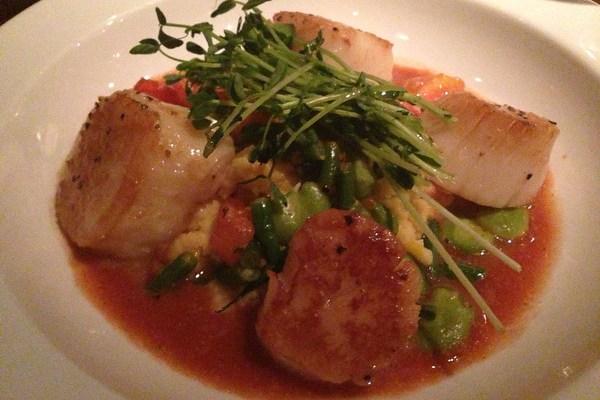 Supper at Grange in Westwood, N.J.