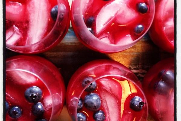 Cocktail Recipe: Blueberry-Hibiscus Margaritas