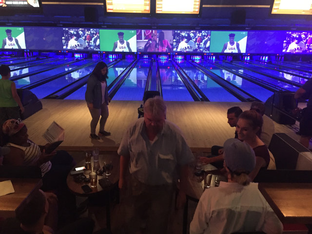 Bowling with lohud!