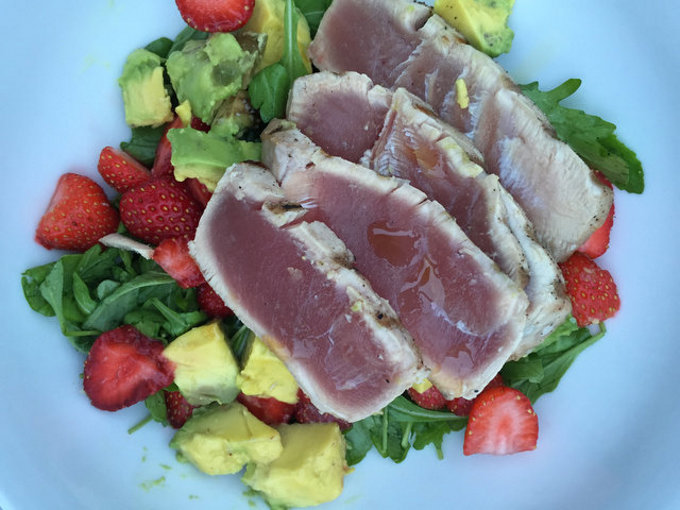 Tuna-Strawberry Salad