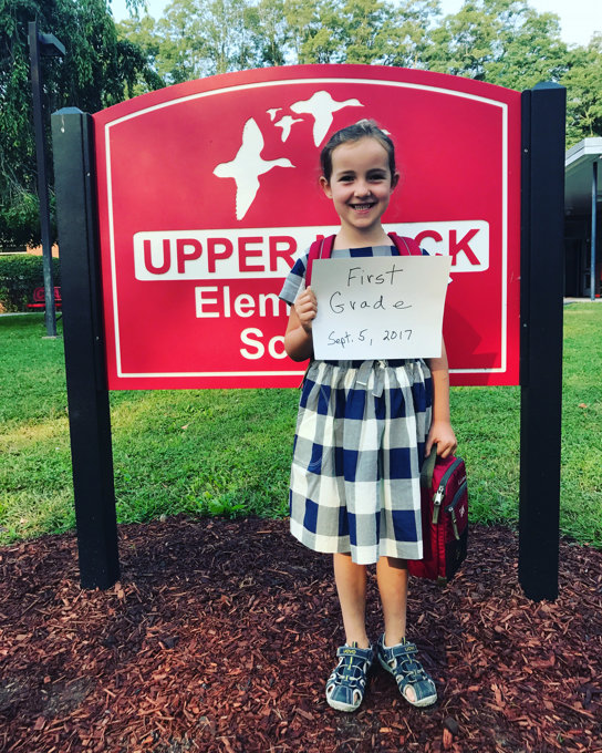 First Day of School: First Grade