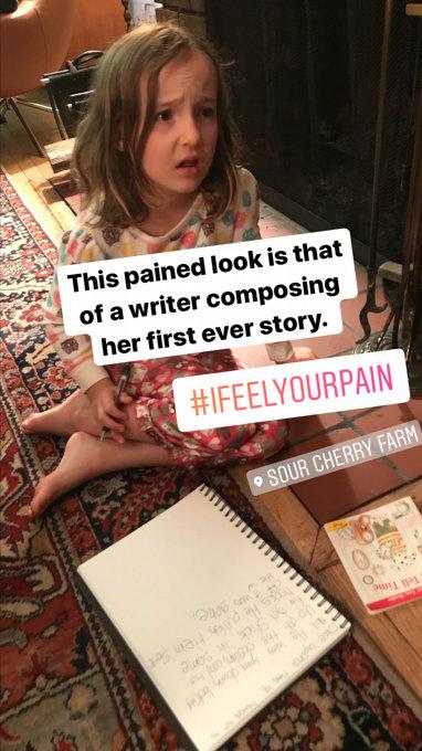 Sam Writes a Story