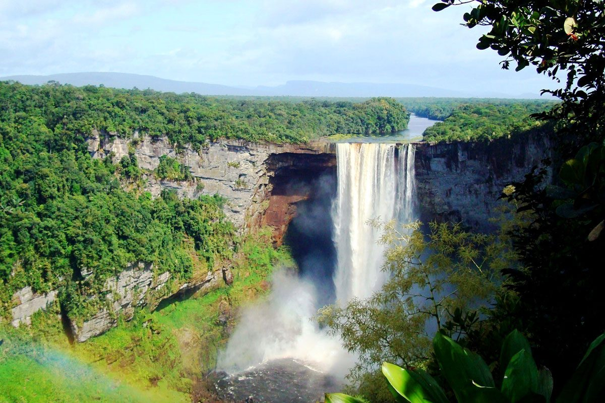 Iguazu Falls Hd Wallpaper Guyana South America Backpacker