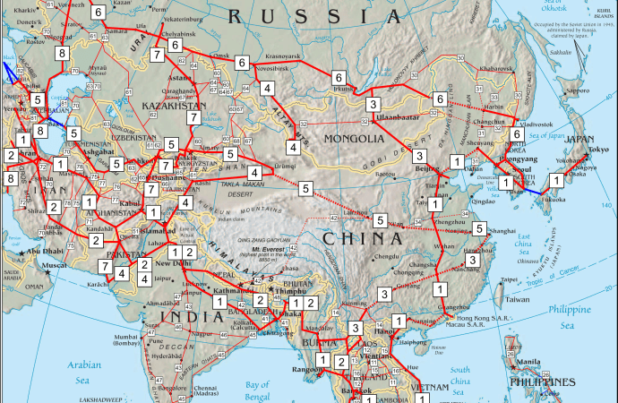 Highway Networks and Asian Politics