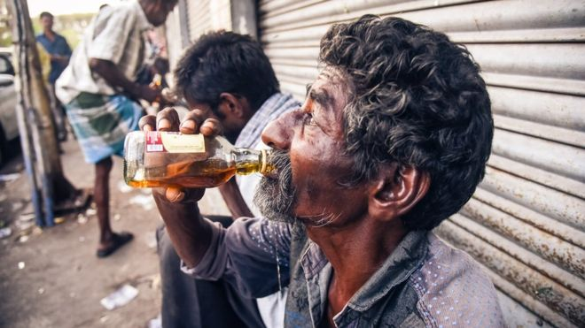 Girl Drinking Alcohol In India