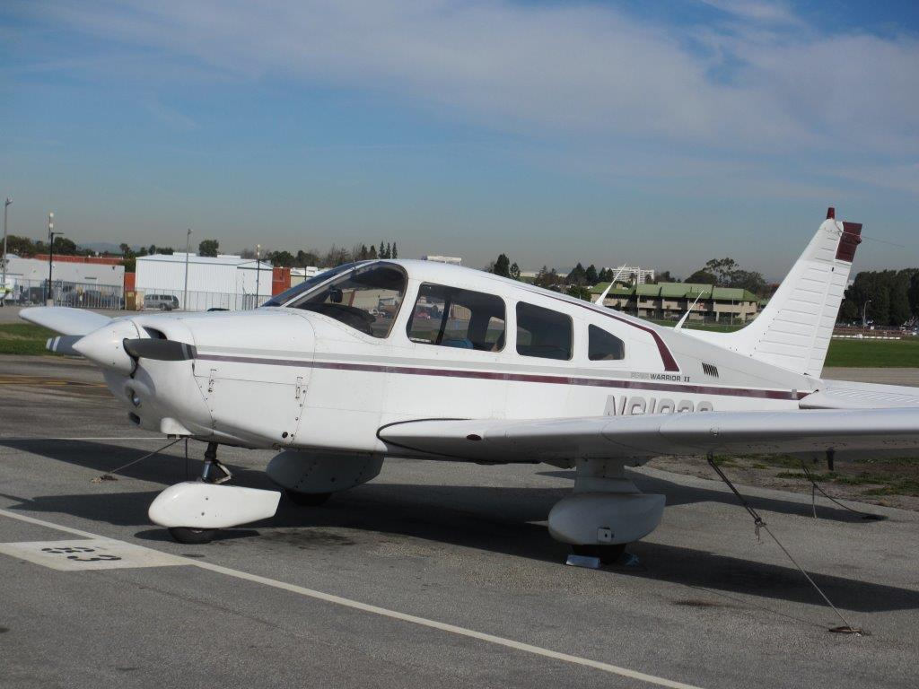 Aviation Aircraft 1980 Piper Warrior Ii – N8102s – South Bay Aviation