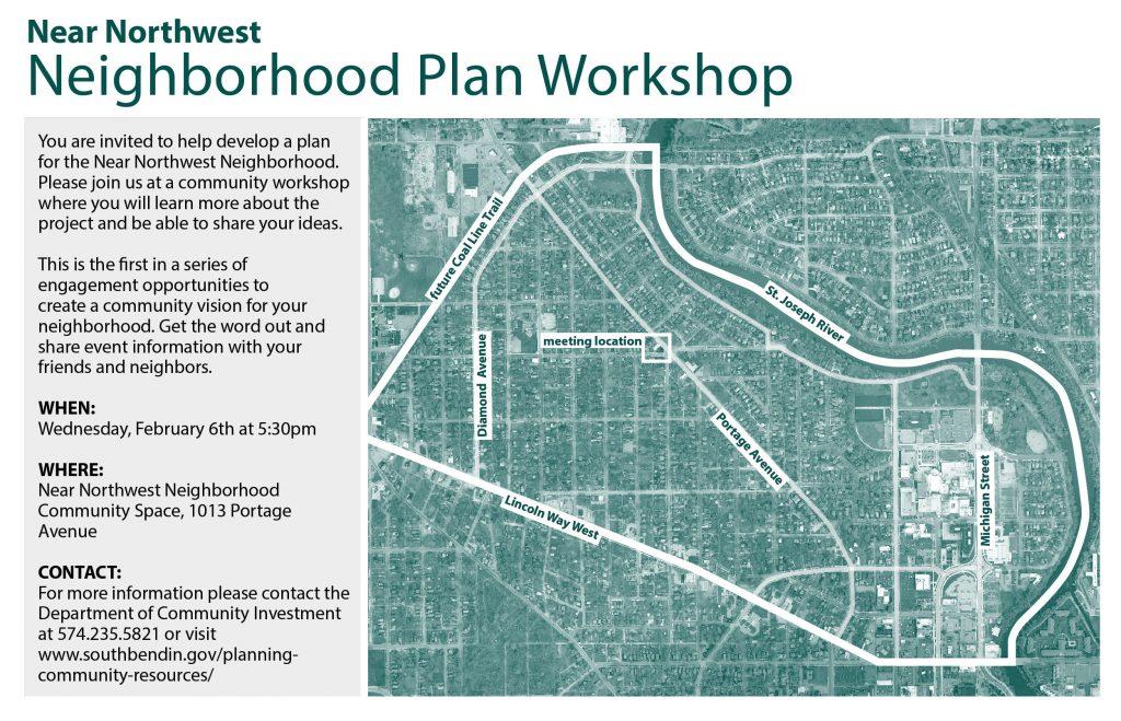 City to Hold Community Workshop on Near Northwest Neighborhood Plan