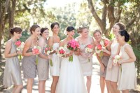 Mismatched Neutral Bridesmaid Dresses | SouthBound Bride