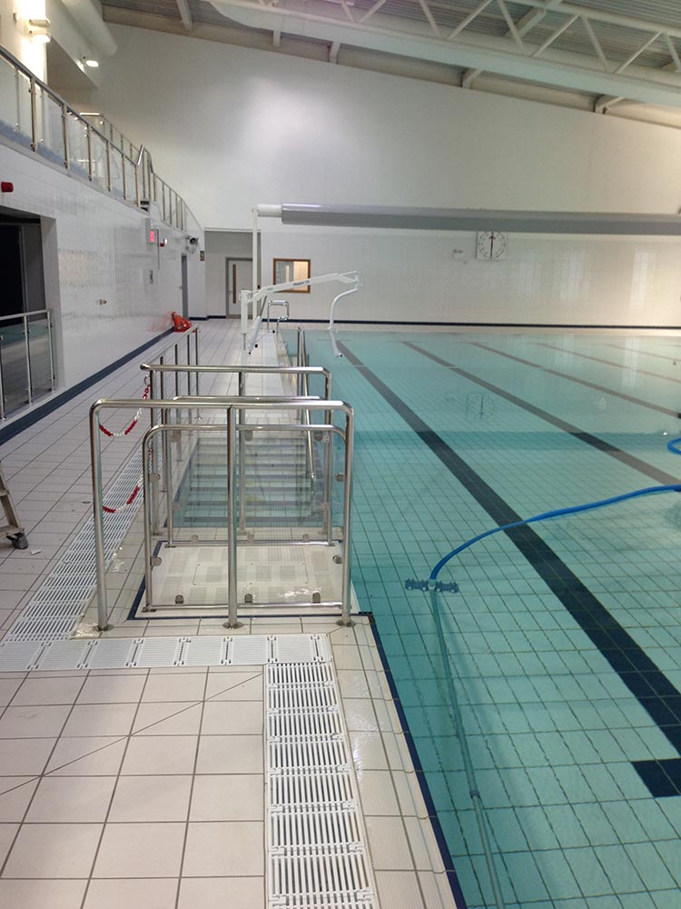 WADDON SWIMMING POOL AND LEISURE CENTRE POOL METALWORK