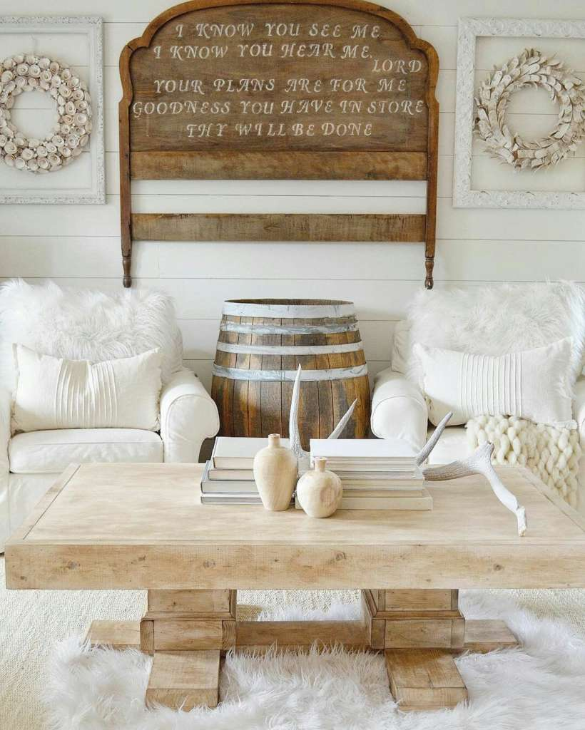 Farmhouse Coffee Shop Riley Wood Farmhouse Coffee Table Southern Sunshine