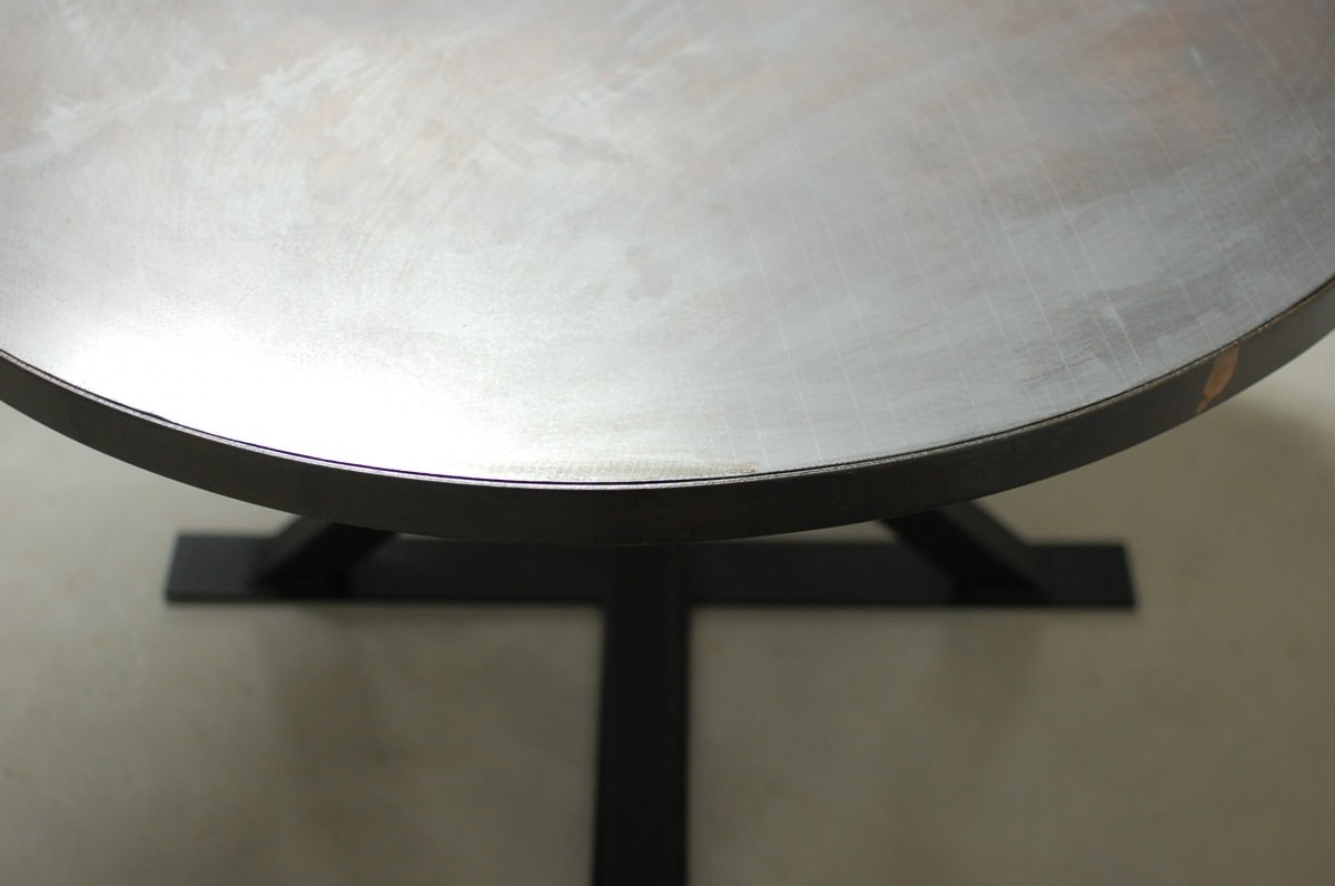 Round Table Tops Round Zinc Table Tops Only Southern Sunshine