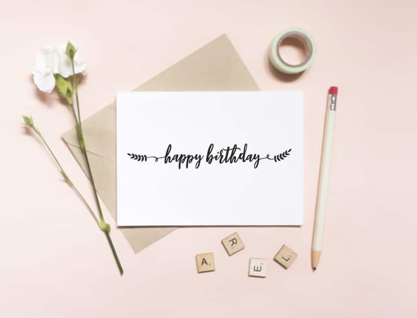 Happy Birthday\