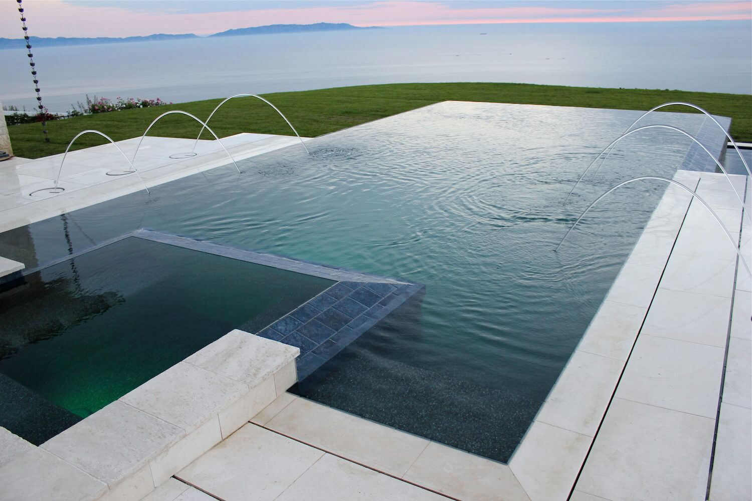 Jacuzzi Pool Dimensions Gallery Southern California Swimming Pools