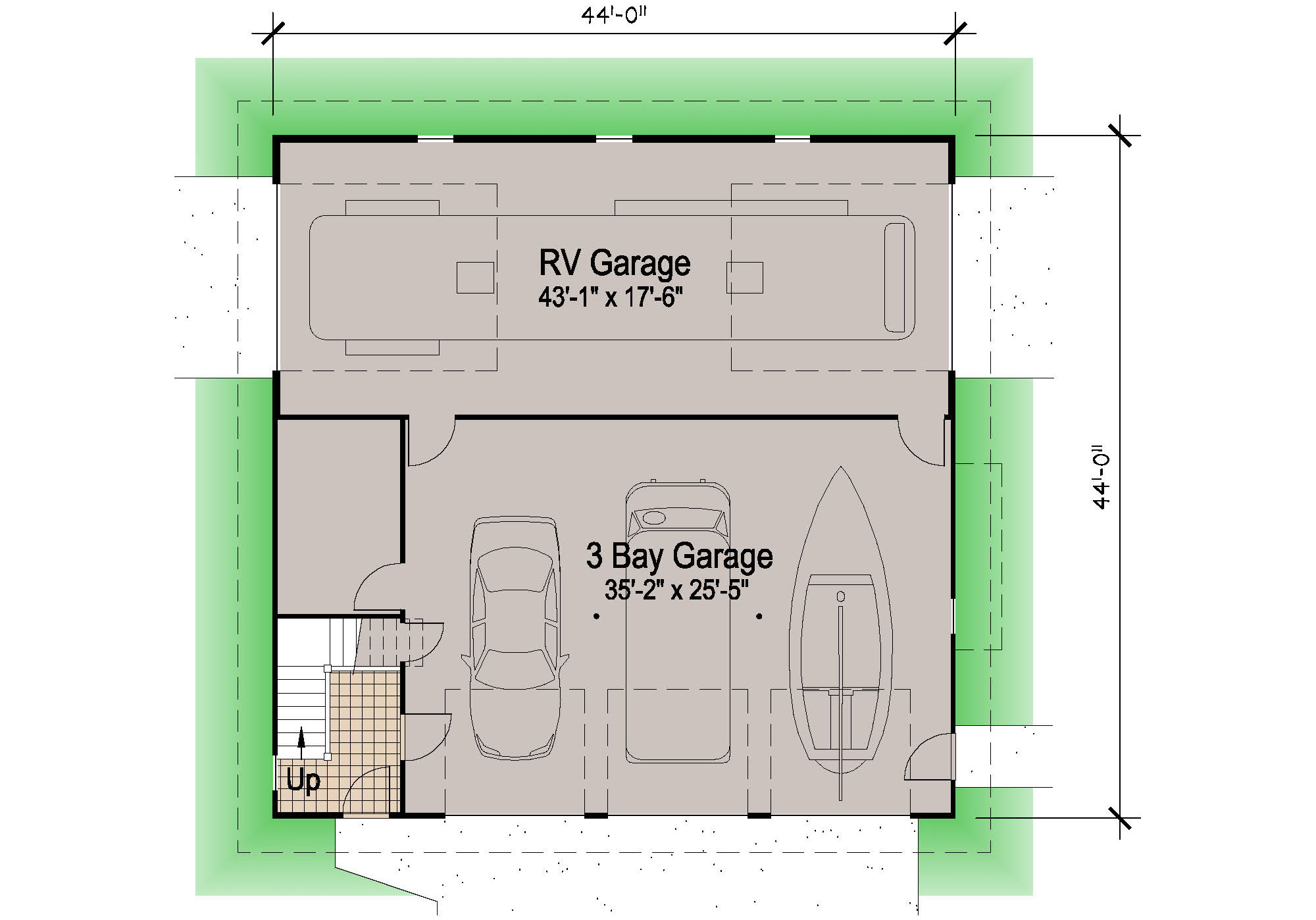 Garage Apartment Plans With Rv Storage Shingle Rv Garage 39 Motor Home Southern Cottages