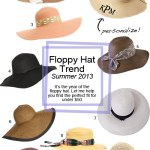 Summer Trend: Floppy Beach Hats