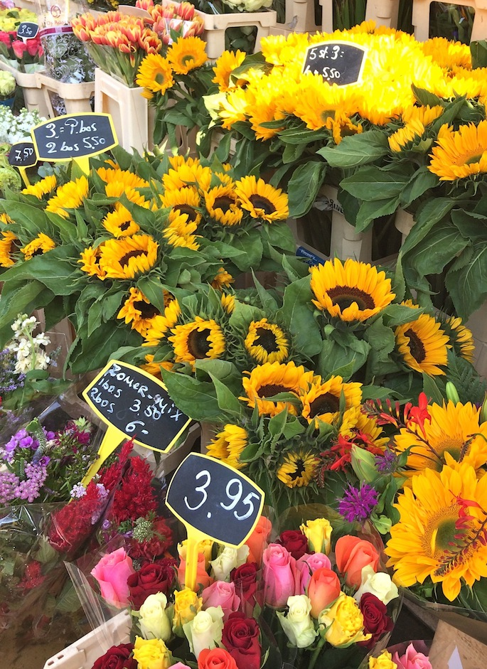 Things to do in Amsterdam: Shop at the flower markets #amsterdam