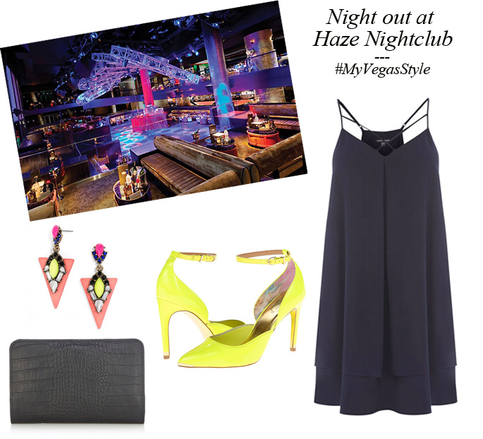 What to wear to Haze Nightclub Aria Las Vegas | #myvegasstyle